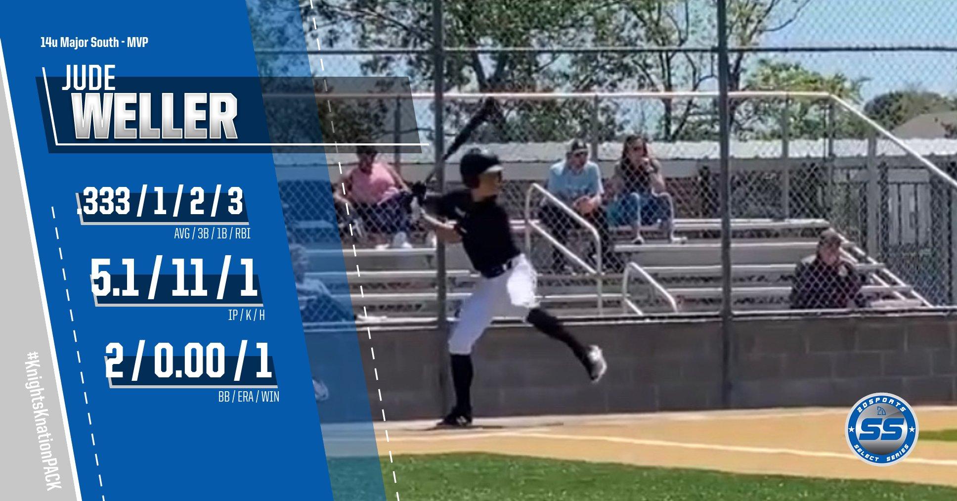 Jude Weller baseball