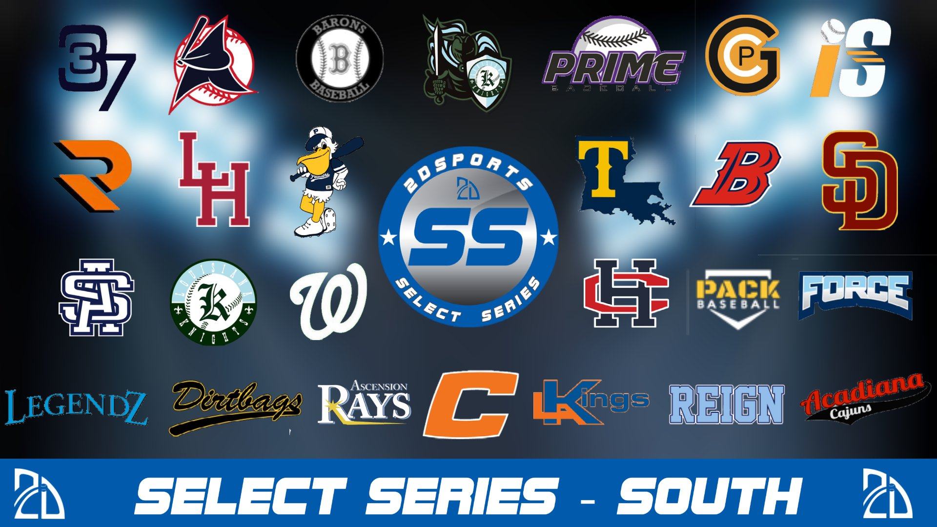 travel baseball teams in louisiana