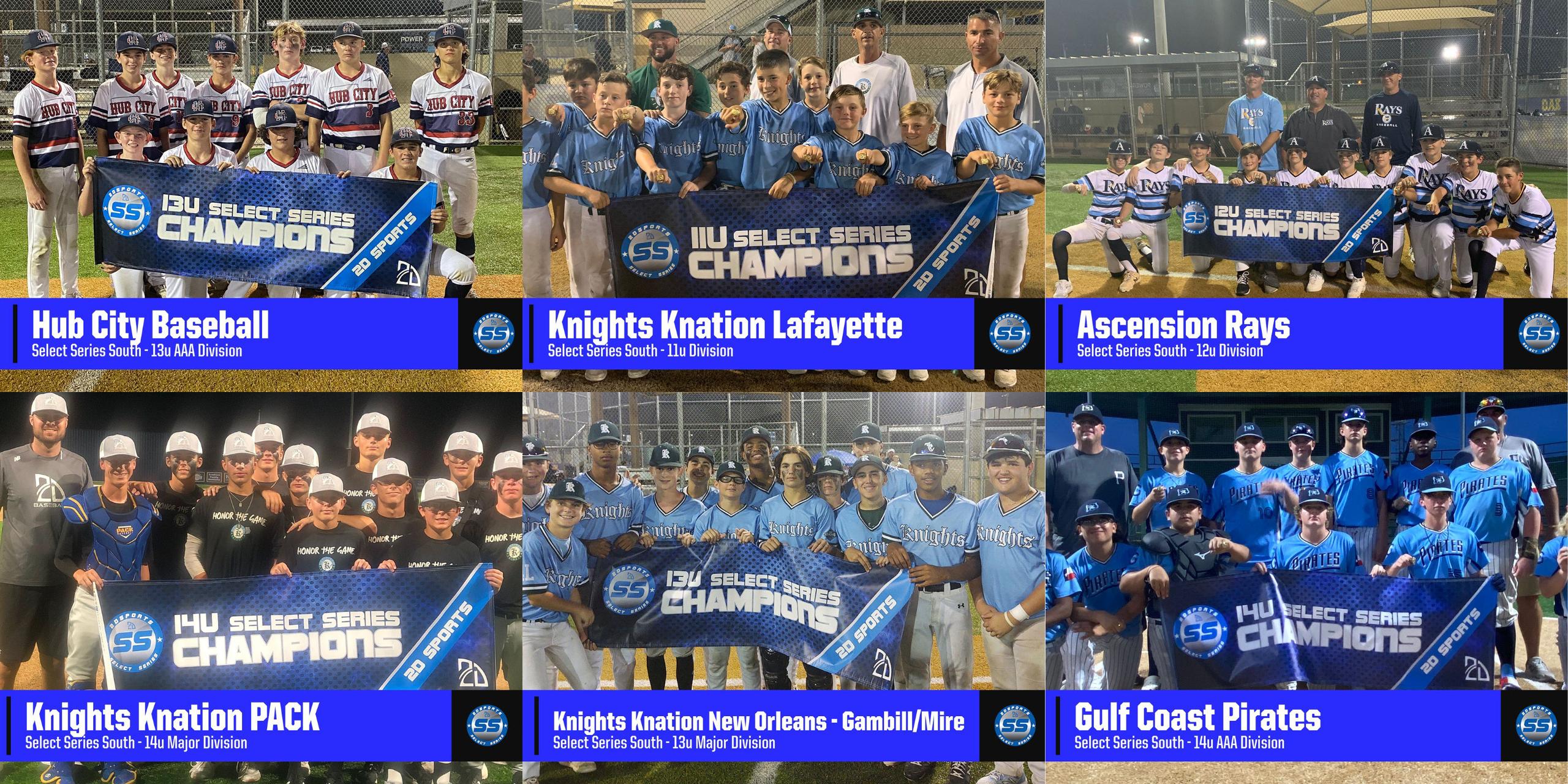 youth travel baseball in louisiana