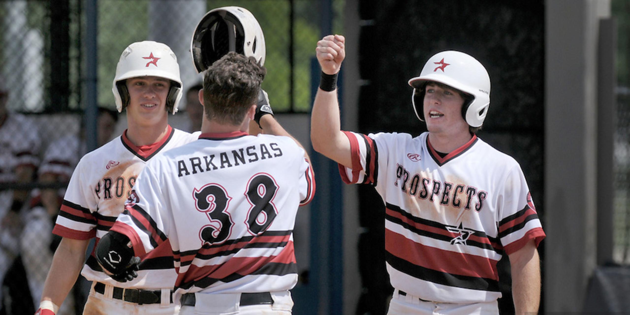 travel baseball team in Arkansas